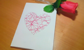 diy cute valentine's day card